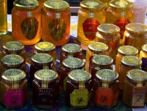 pots de miel de garrigue