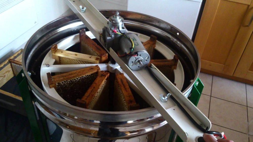 Extracteur pour faire son miel soi même